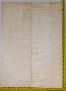 Guitar classical No.40 Back and Sides made with Curly maple in 2014 AA grade