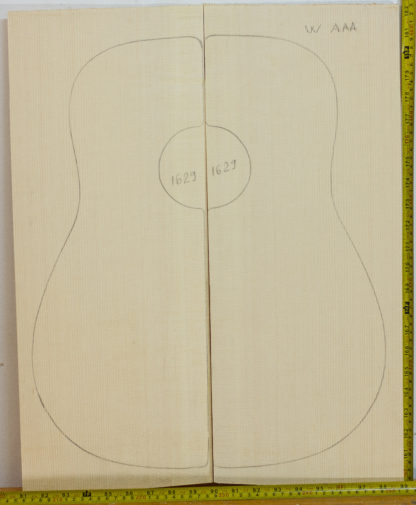 Guitar western No.1629 Top made with Spruce in 2016 AAA grade
