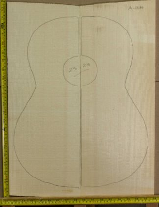 Guitar classical No.23 Top made with Spruce in 2014 A grade