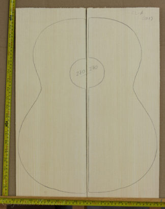 Guitar classical No.270 Top made with Spruce in 2015 A grade