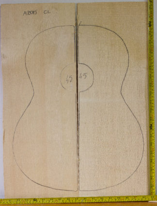 Guitar classical No.45 Top made with Spruce in 2015 AA grade