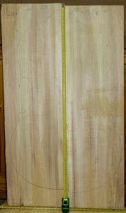 Double bass No.723 Back and Sides made with Poplar in 2014 AAA grade