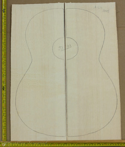 Guitar classical No.93 Top made with Spruce in 2015 A grade
