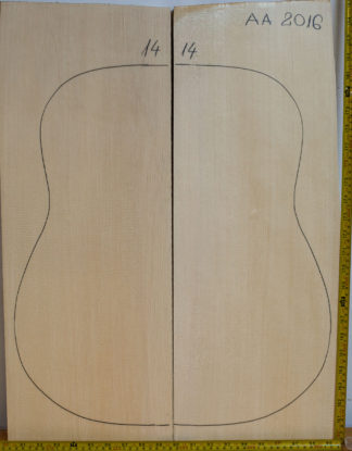 Guitar archtop No.14 Top made with Spruce in 2016 AA grade