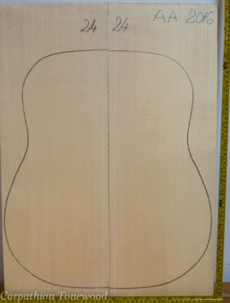 Guitar archtop No.24 Top made with Spruce in 2016 AA grade