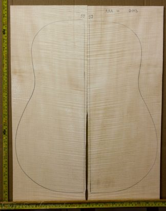 Guitar western No.59 Back and Sides made with Curly maple in 2013 AAA grade