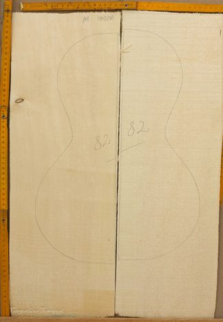 Parlor No.82 Top made with Spruce in 2011 Master grade