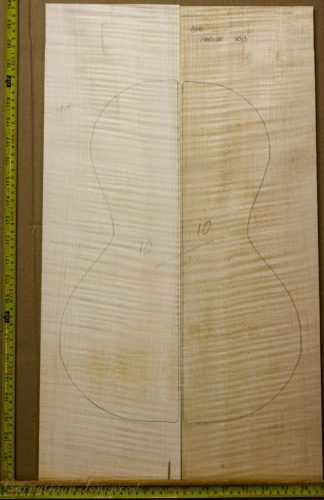 Parlor No.10 Back and Sides made with Curly Maple in 2013 AAA grade