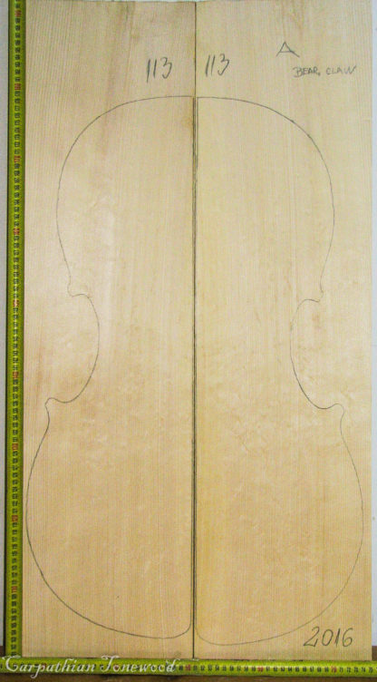 Cello No.113 Top made with Spruce in 2016 A grade