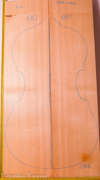 Cello No.180 Top made with Spruce in 2016 AA grade