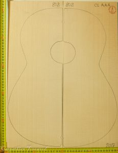 Guitar classical No.802 Top made with Spruce in 2017 AAA grade