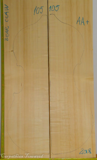 Double bass No.105 Top made with Spruce in 2018 AA grade