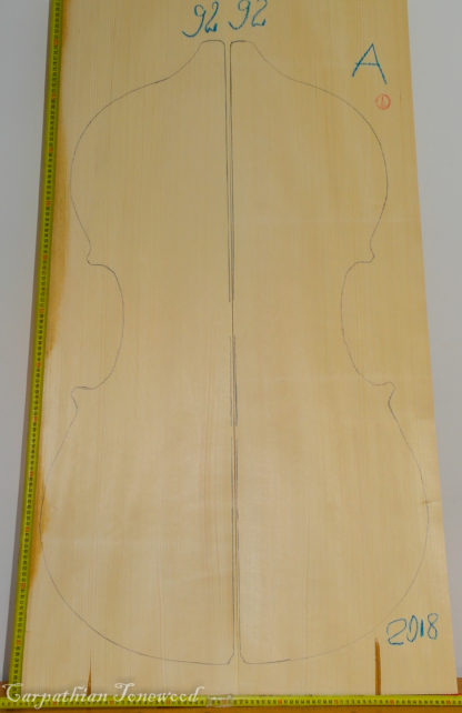 Double bass No.92 Top made with Spruce in 2018 A grade