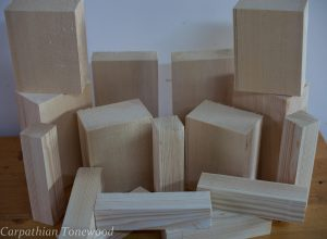 Double bass Spruce Wood for interior