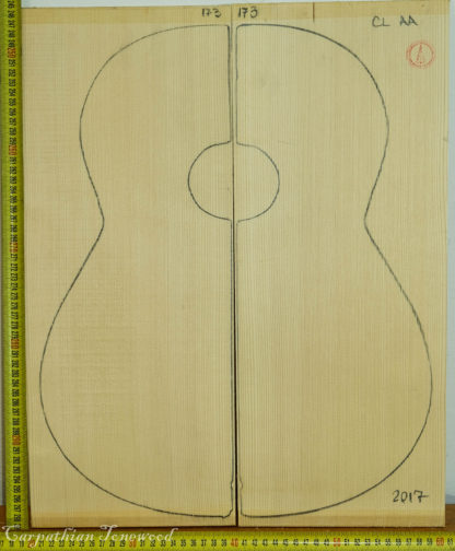 Guitar classical No.173 Top made with Spruce in 2017 AA grade