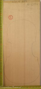 Viola No.29 One piece Top made with Spruce in 2014 A grade