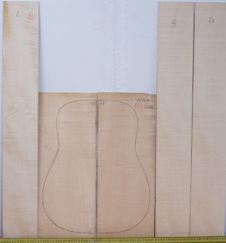 Guitar western No.44 Back and Sides