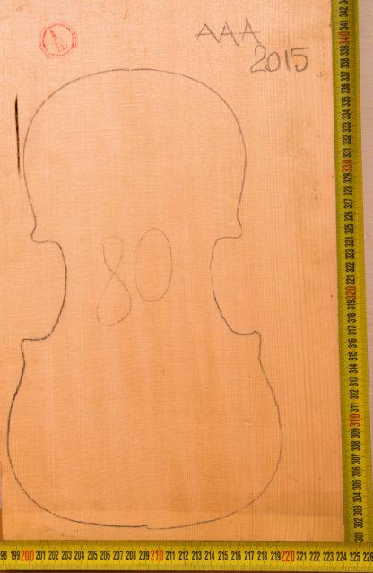 Violin No.80 One piece Top