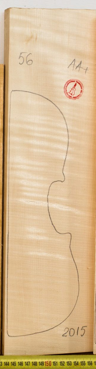 Violin No.56 Back and Sides