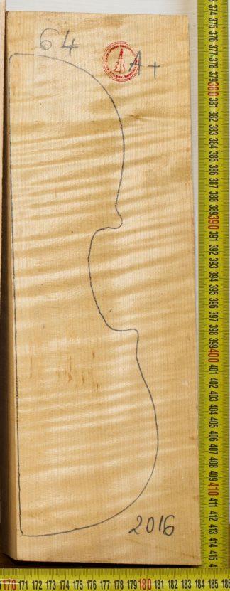Violin No.64 Back and Sides