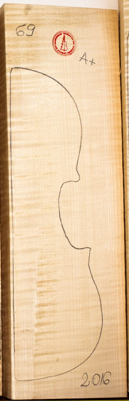 Violin No.69 Back and Sides