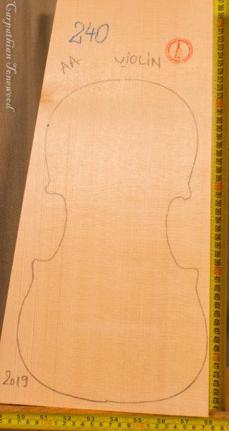 Violin No.240 One piece Top