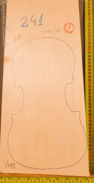 Violin No.242 One piece Top