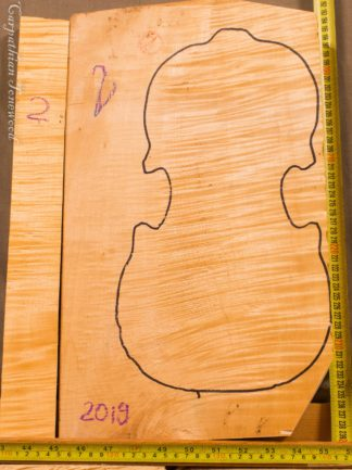 Guitar archtop No.3 Back and Sides