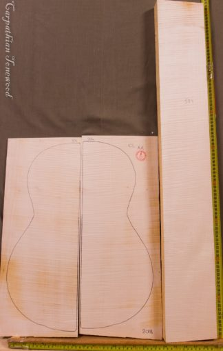 Guitar classical No.504 Back and Sides