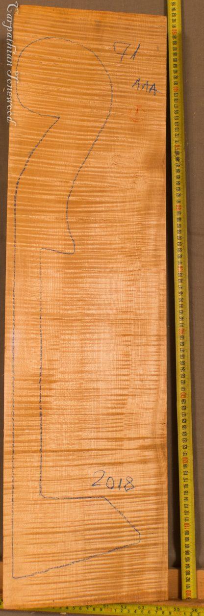 Double bass No.71 Neck