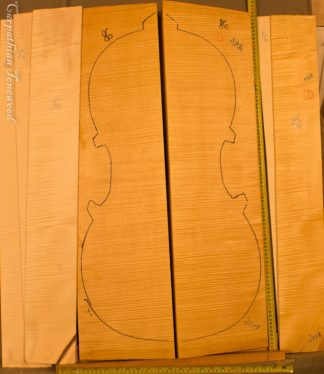 Cello No.86 Back and Sides