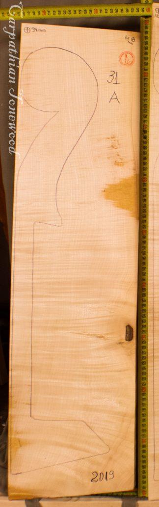 Double bass No.31 Neck