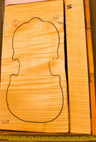 Violin No.56 One piece Back and Sides