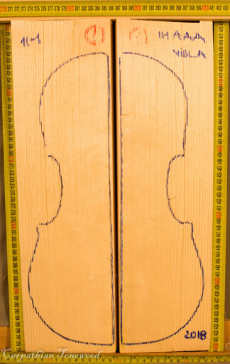 Violin Spruce Hand Split Top