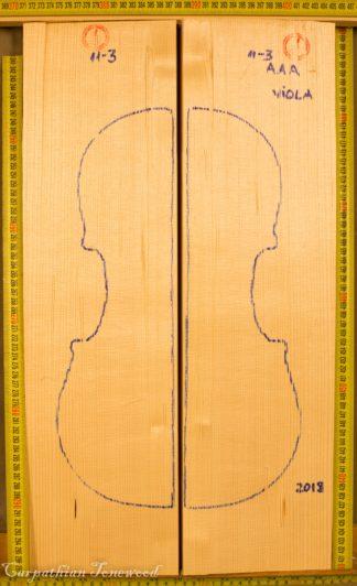 Violin No.113 Hand Split Top