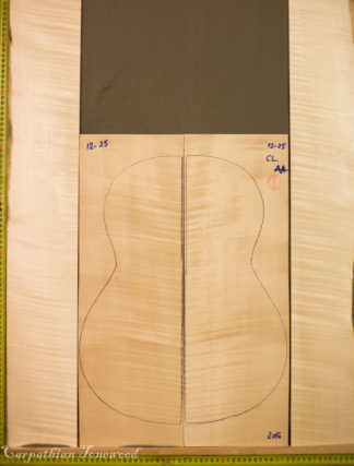 Guitar classical No.1225 Back and sides