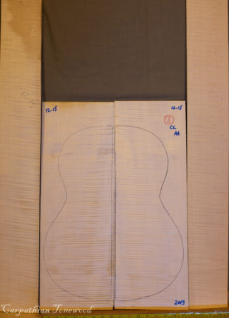 Guitar classical No.1215 Back and Sides