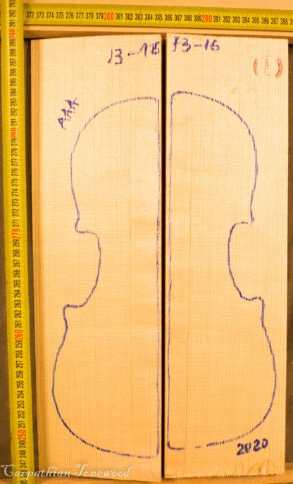 Violin No.1316 Hand Split Top