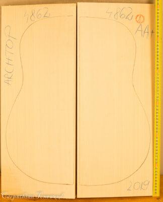 Guitar archtop No.4862 Top