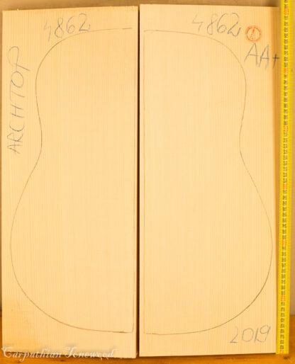 Guitar archtop No.4862 Top