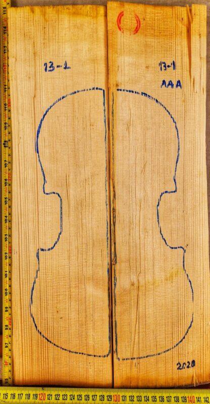 violin spruce top