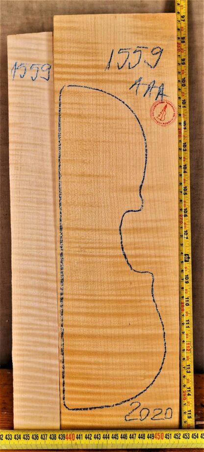 Violin No.1559 Back and Sides