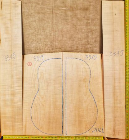 Guitar western No.3316 Back and Sides